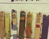 Book Spine Bookmarks