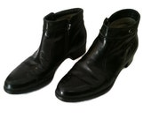 Vtg 60s MOD/Beatle/Chelsea/Brogue Ankle Boots Made in Italy