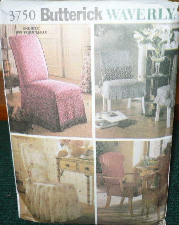 Butterick Waverly Chair Covers 3750