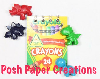 Add notebook to your crayon set - Recycled crayon mini spiral notebook with 30 pages