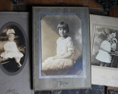 3 Vintage photos of young girls (VI111)
