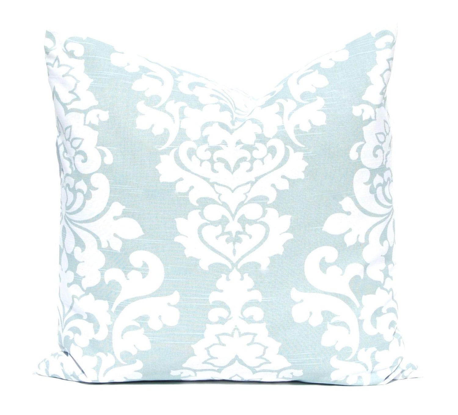 Aqua Pillows Decorative Throw Pillow Covers One Aqua Sea Foam