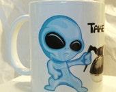 Alien Space Extraterrestrial Coffee Mug