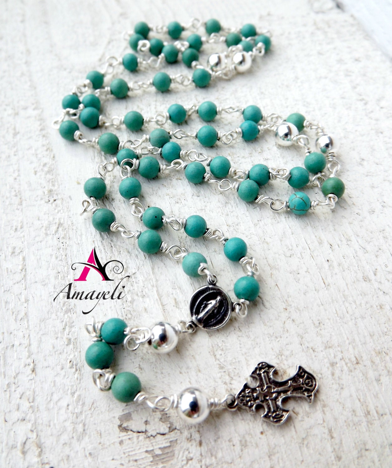 rosaries rosary sterling silver rosary gemstone rosary