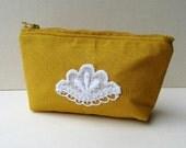 cotton zipped storage pouch, zipper pouch, zipped pouches, storage pouch