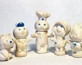 Pillsbury Poppin Fresh Finger Puppet Family