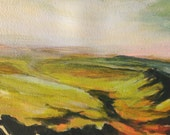 Brecon Beacons No.4 Original Acrylic on Paper Painting