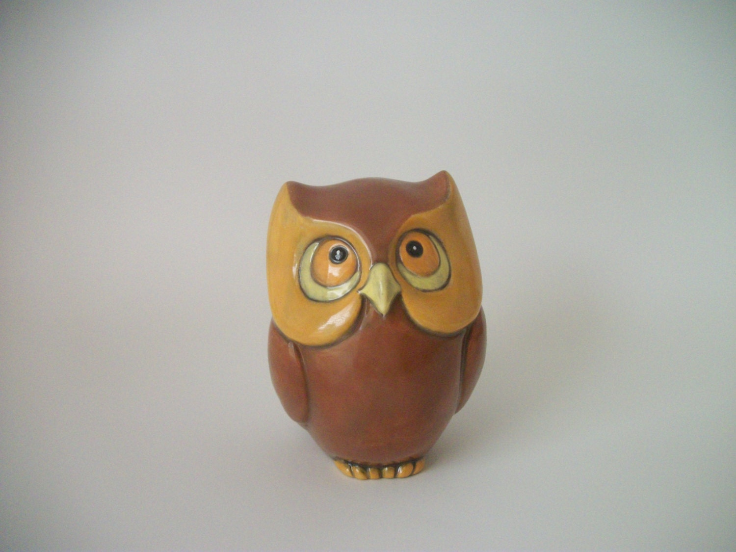 Ceramic Owl Wedding Party Gifts For Fall Wedding By