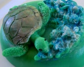Stocking stuffer - Sea Turtle Soap Bar - gifts for teens, gifts for woman, Stocking stuffer for her