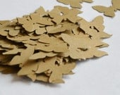 Kraft Paper Die Cut Butterflies, Table Decoration, Wedding Confetti Butterfly, Die Cuts for Scrapbooking or Cardmaking