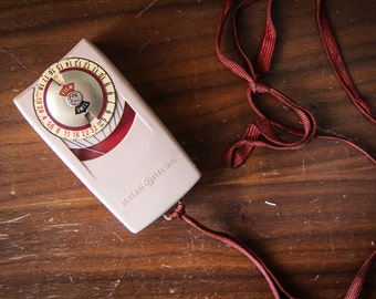 1960s Pink General Electric Mascot Light Meter from The Two Sparrows Vintage