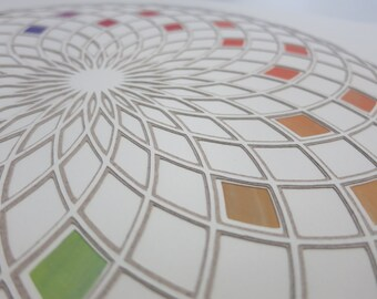 KALEIDOSCOPE #2 papercut fine art