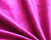Hot Pink Fuchsia Cotton Velvet Upholstery Weight Fabric Commercial Curtain Fabric Fashion Velvet Upholstery Fabric Decorative Home Décor