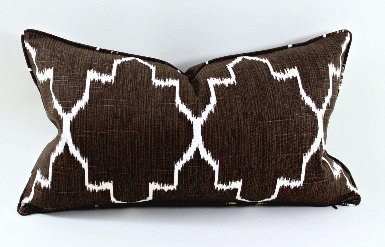 12x20 Ikat Pillow Throw Pillow Trendy Pillows