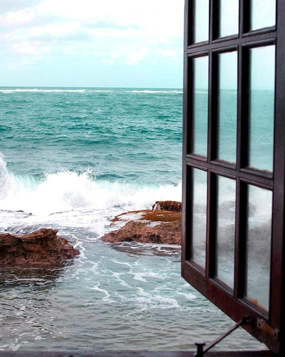 Fine Art Photography, Coastal Home Decor, Beach Photography, Turquoise, White, Wall Art, Look To The Sea, 8x10 Print