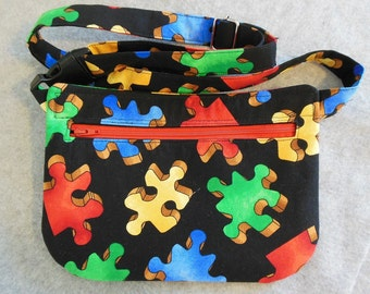 Hip Bag - Jigsaw Puzzle Pieces