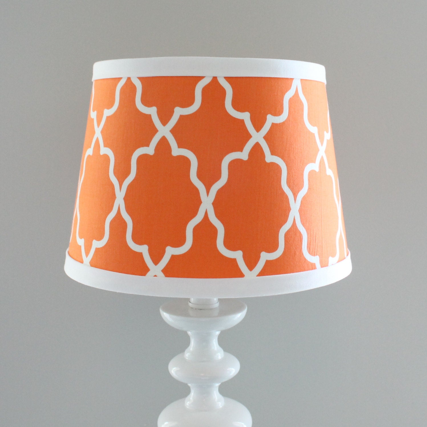 in stock small orange white moroccan lamp shade. Black Bedroom Furniture Sets. Home Design Ideas