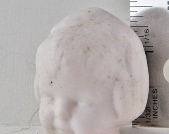 Vintage Excavated German Doll Head Damaged