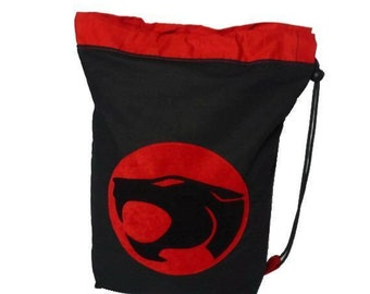 Thundercats drawstring school sports gym kit pe bag