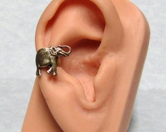 Forest Elephant Ear Cuff