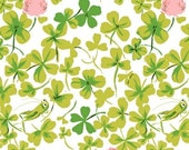 Briar Rose Cricket Clover Heather Ross Windham Fabrics One Yard Clover Quilting Fabric by the Yard