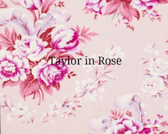 Jennifer Paganelli Fabric Taylor in Rose Circa 15 Yards Full Bolt Free Shipping