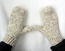 Crochet PATTERN, Crochet Mitten Pattern, Adult Mitten Pattern, Crochet Woman Mitten Pattern