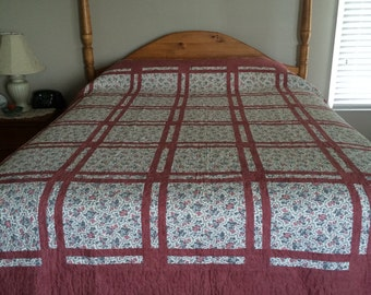 Bed Quilt 79 in x 92 in quilt