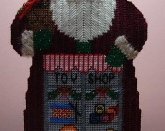 Toy Shop Santa Centerpiece