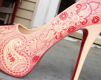 henna lace size 41