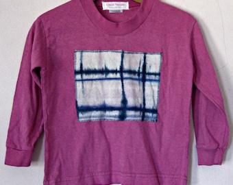 Magenta Tshirt Toddler TieDye 2-4T Cotton