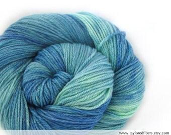 Merino Bamboo Yarn Hand Dyed (AGW640)