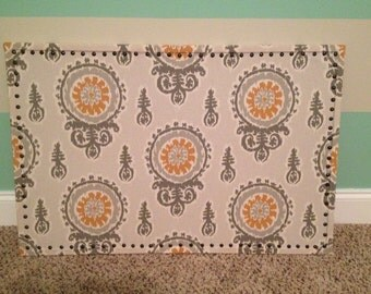 Large Fabric Bulletin Board -other fabric choices available