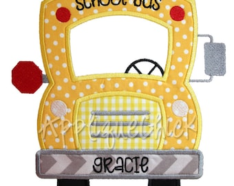 Bus Front Applique Design