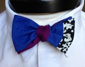 The Walt- Our Disney themed bowtie in Frozen colors- Anna