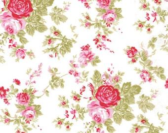 AMELIE in White (pwtw35) - DELILAH by Tanya Whelan - Free Spirit Fabric - 1 yard