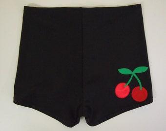 Cherry Roller Derby Shorts - Pre-Order