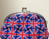 Medium Handmade Coin Purse - The Great British Flag