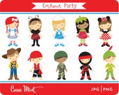 Costume Party Clip Art