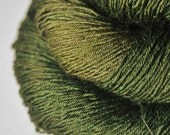 I know what happened to the olive - BFL Sock Yarn Superwash