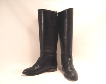 Leather Riding Boots Charles David Size 7.5