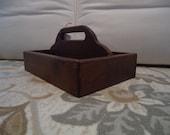 A mano legno Tote Tool Box pino