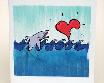 Shark bite valentine