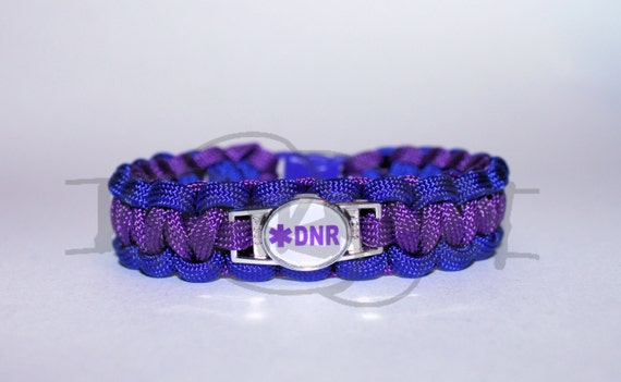 dnr bracelet do not resuscitate dnr alert id alloy charm on 550 9273