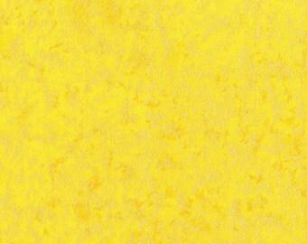 Michael Miller Fairy Frost Fabric in Sunshine Yellow Cotton Metallic,  1 yard