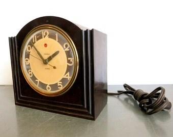 Deco Telechron Mantle Clock