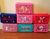 Personalized Pencil School Boxes - Supply School Boxes