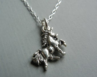 Tiny Unicorn Necklace