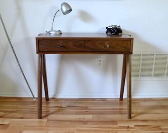"Aula Desk 32"" in Solid Walnut"
