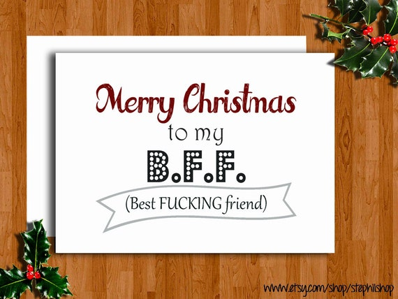 items similar to funny merry christmas or happy holidays
